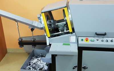 NOVOL z maszyną do wykrawania etykiet od GRAFMASZ