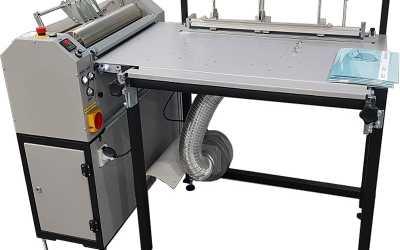 GRAFMASZ produkuje maszyny do kaszerowania i okładek twardych
