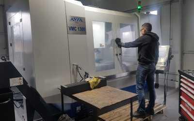 Nowe maszyny CNC wdrożone do produkcji