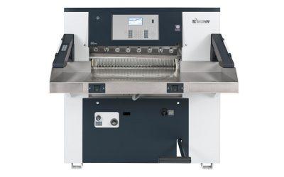 Krajarka Mohr 80 w strzelińskiej drukarni Euro-Druk